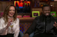 50-cent-leah-remini-ass