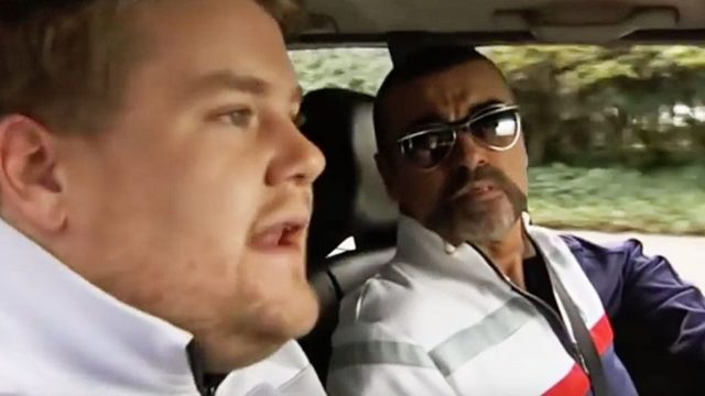 Watch George Michael Star in the First Ever Carpool Karaoke
