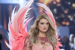 52245082 Models walk the runway as The Weekend, Lady Gaga, and Bruno Mars performs during the annual Victoria's Secret fashion show at Grand Palais on November 30, 2016 in Paris, France. Models walk the runway as The Weekend, Lady Gaga, and Bruno Mars performs during the annual Victoria's Secret fashion show at Grand Palais on November 30, 2016 in Paris, France.  Pictured: Lily Donaldson FameFlynet, Inc - Beverly Hills, CA, USA - +1 (310) 505-9876 RESTRICTIONS APPLY: USA ONLY