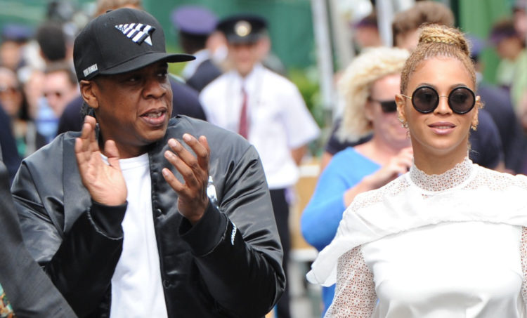 Jay z hits a young girl