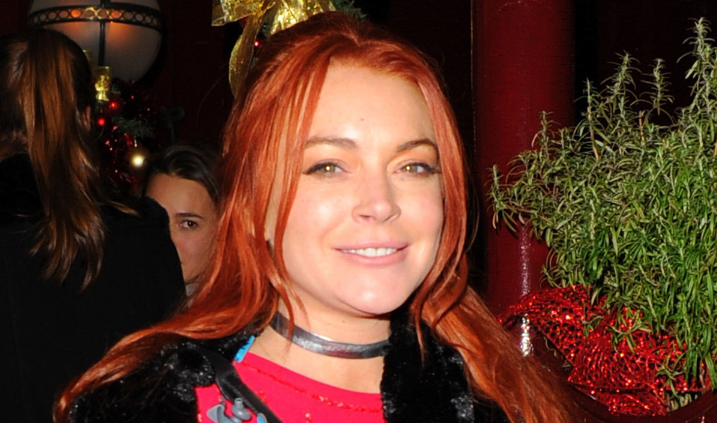 Lindsay Lohan Shares Her Support For Trump