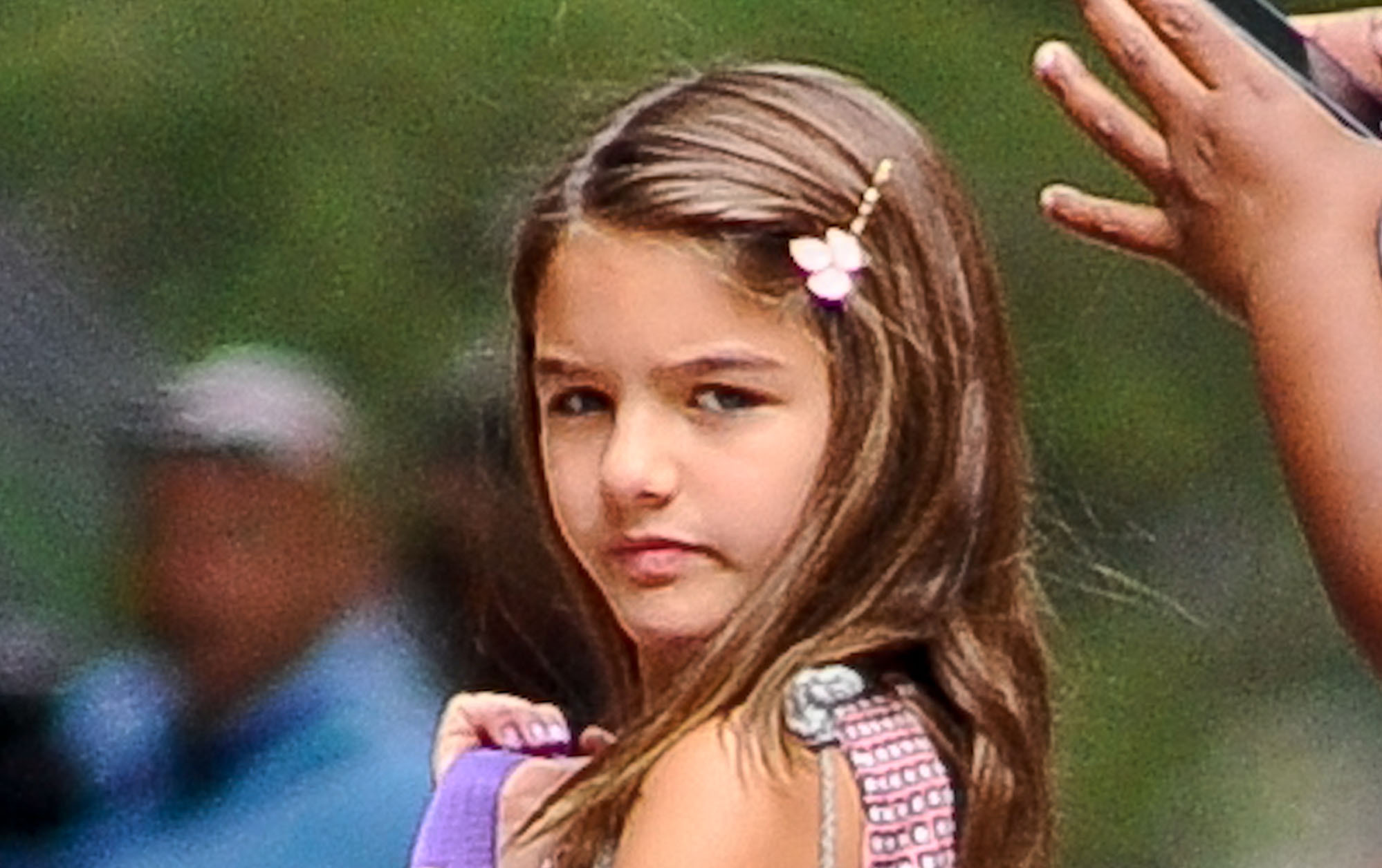 Suri Cruise Crushed By Hillary Clinton's Loss | The Blemish
