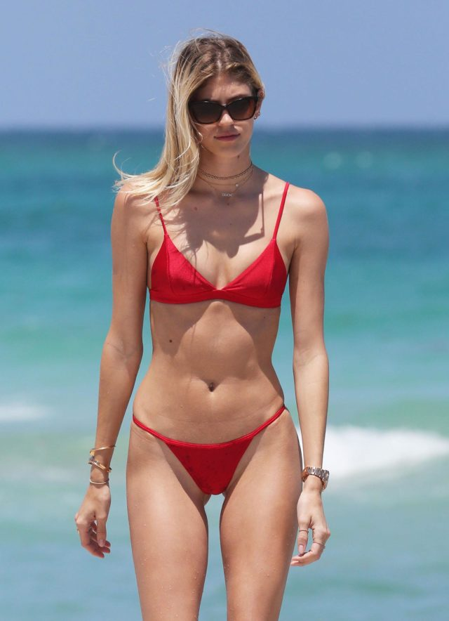 Devon Windsor with Bikini