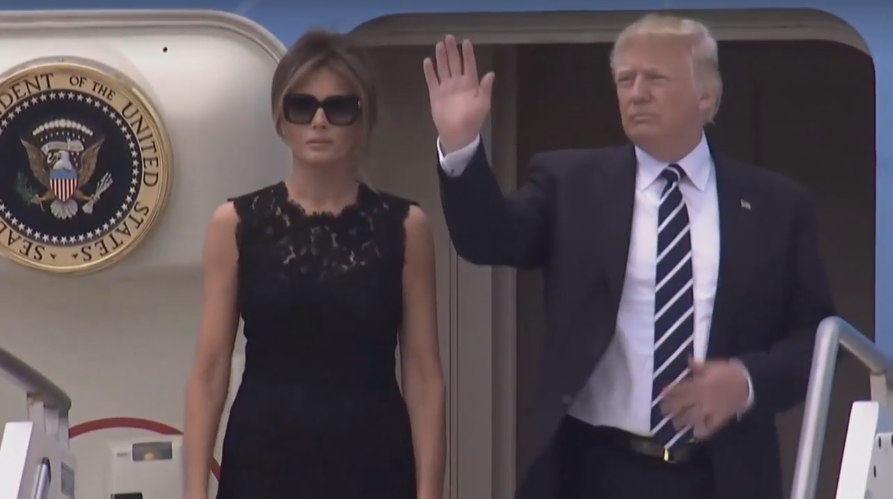 Melania Trump wears black to visit Pope amid Donald hand-holding drama