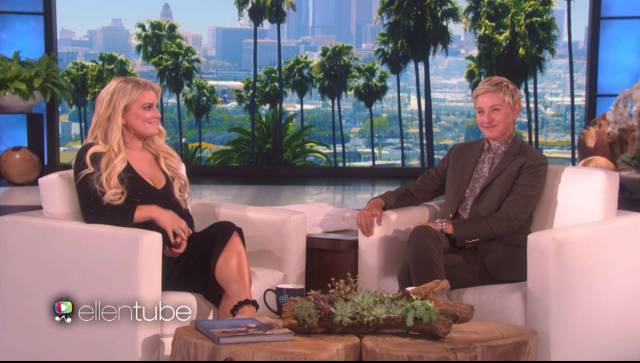Ellen's Interview With Jessica Simpson Is a Wreck