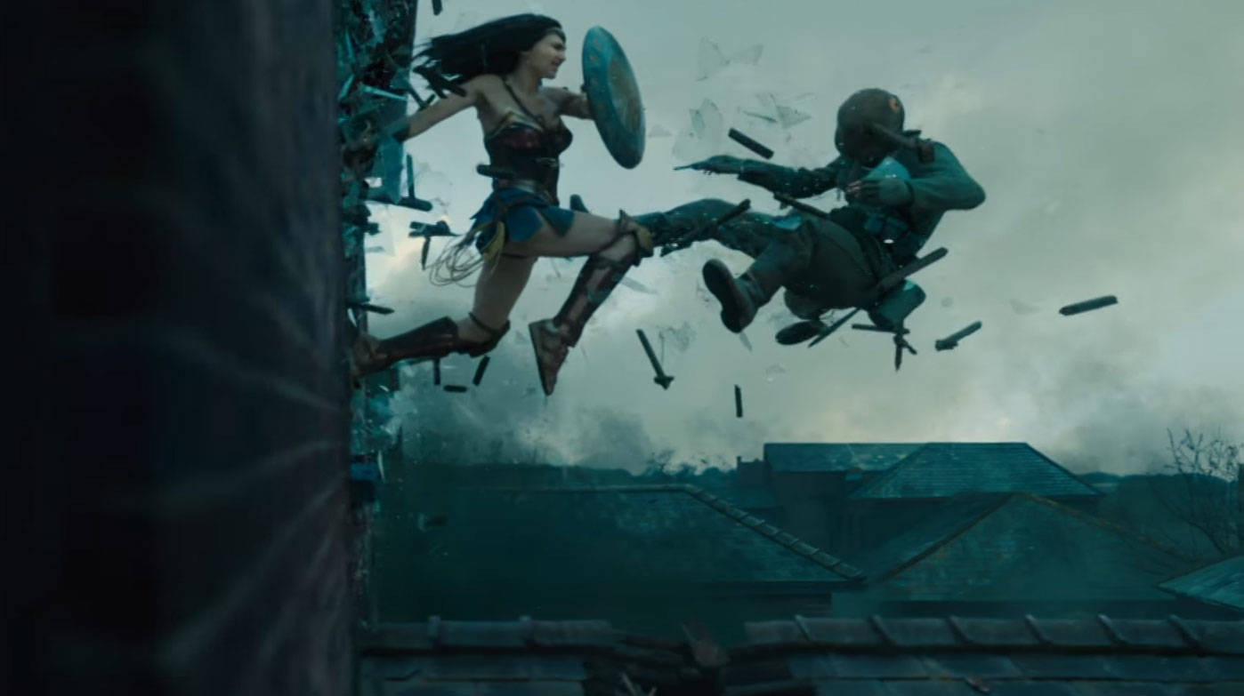 Image result for wonder woman trench no mans land scene