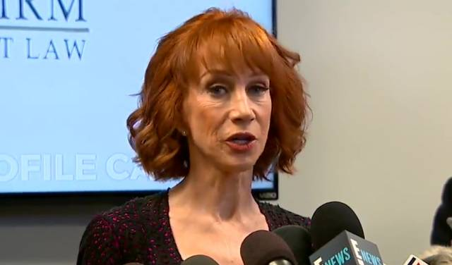 Kathy Griffin Shaved Her Head For The Best Reason