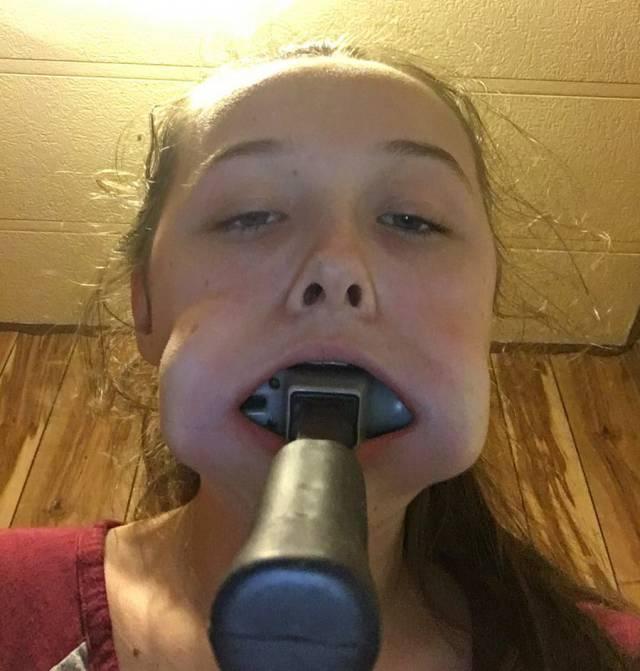Ass to mouth teen