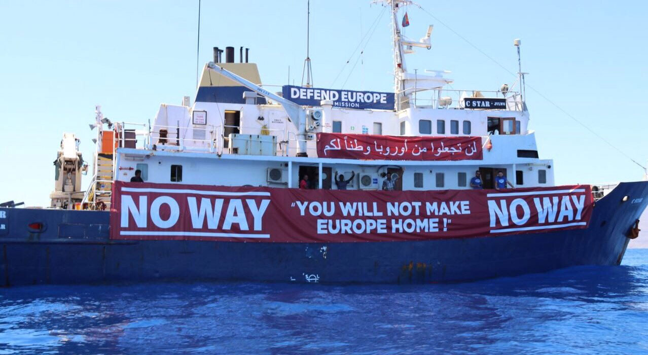 Anti-migrant boat C-Star has to be saved in Med
