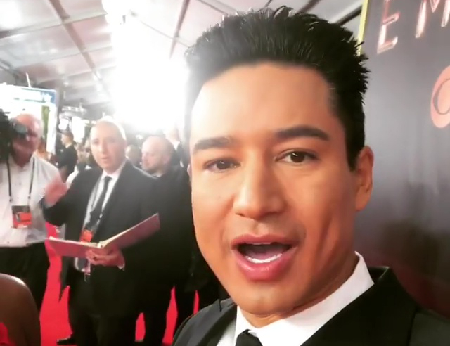 Mario Lopez's Phone Assaulted at Las Vegas Spa