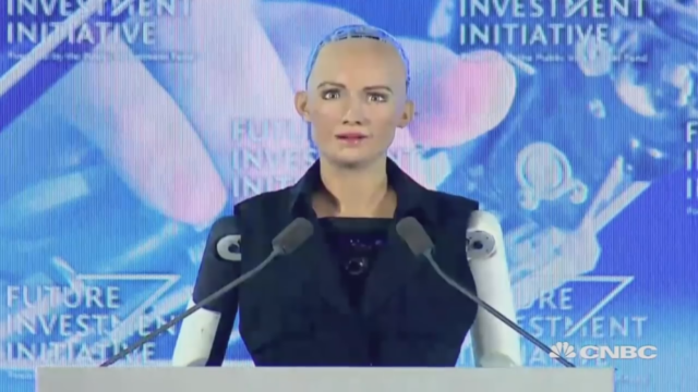 Saudi Arabia Makes Robot a Citizen, But Because It's a Woman It Still Has No Rights