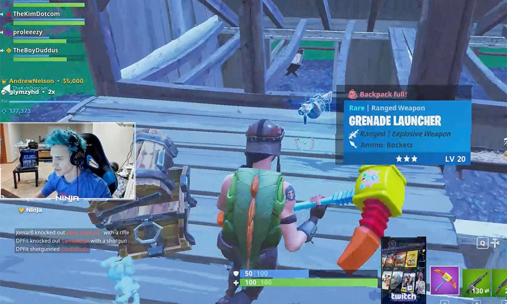 Drake Blows Up Twitch Streaming Fortnite The Blemish