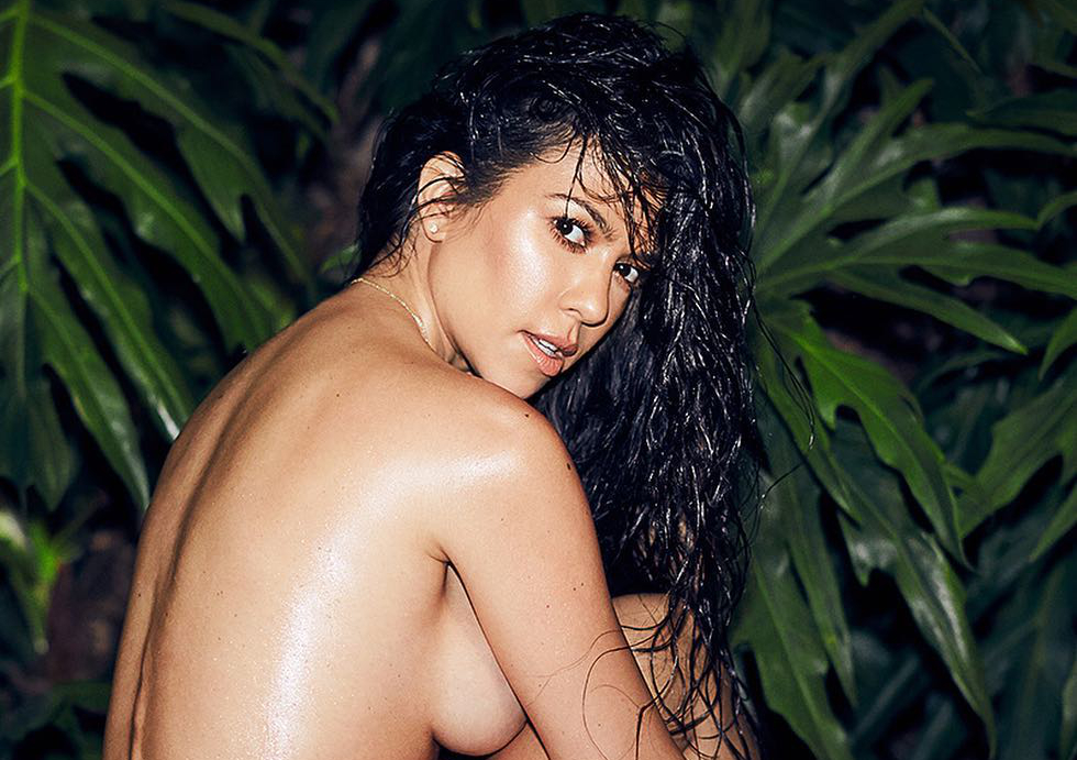Kourtney kardashian in nude — 6