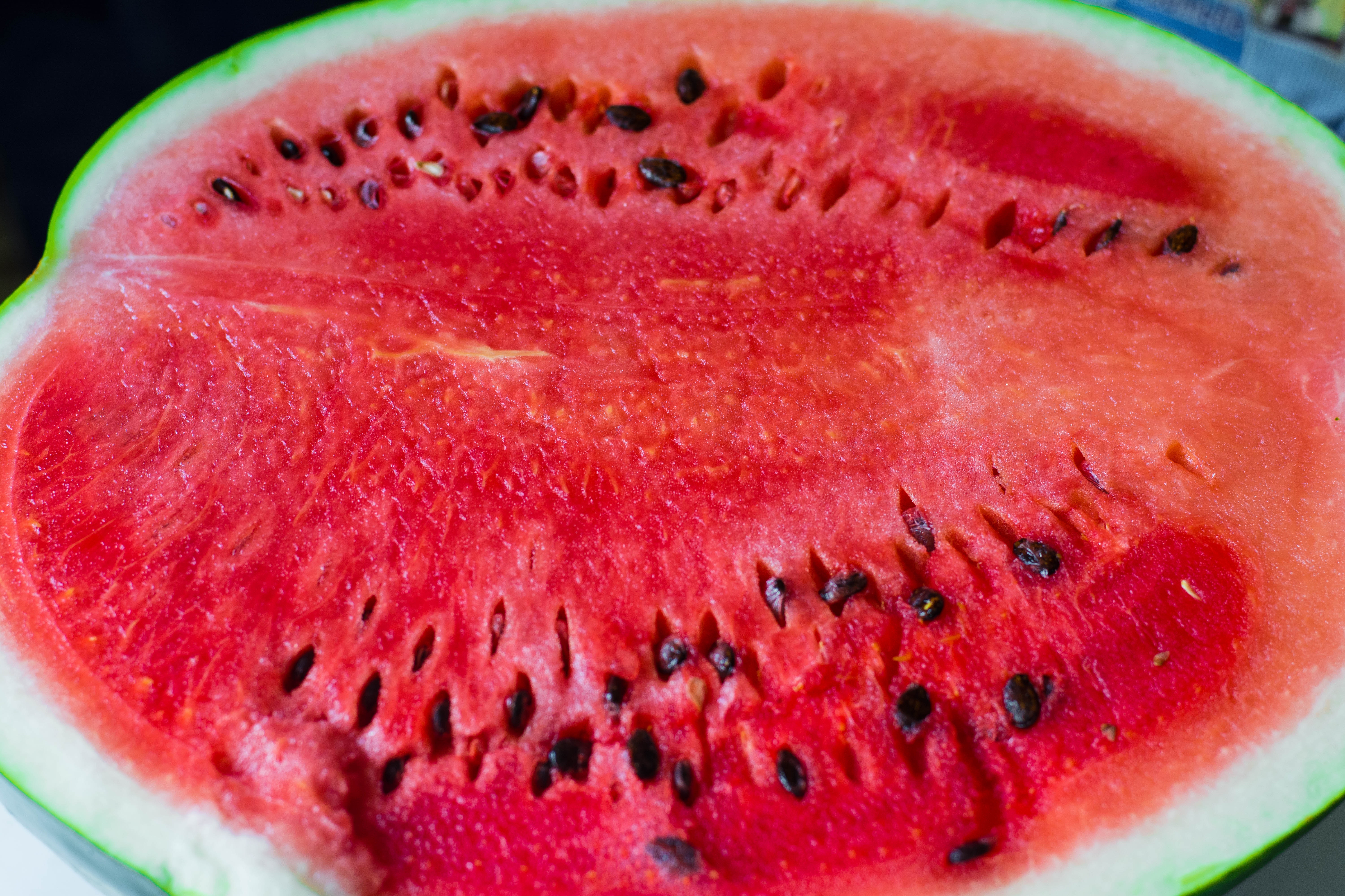 Sex with a watermelon