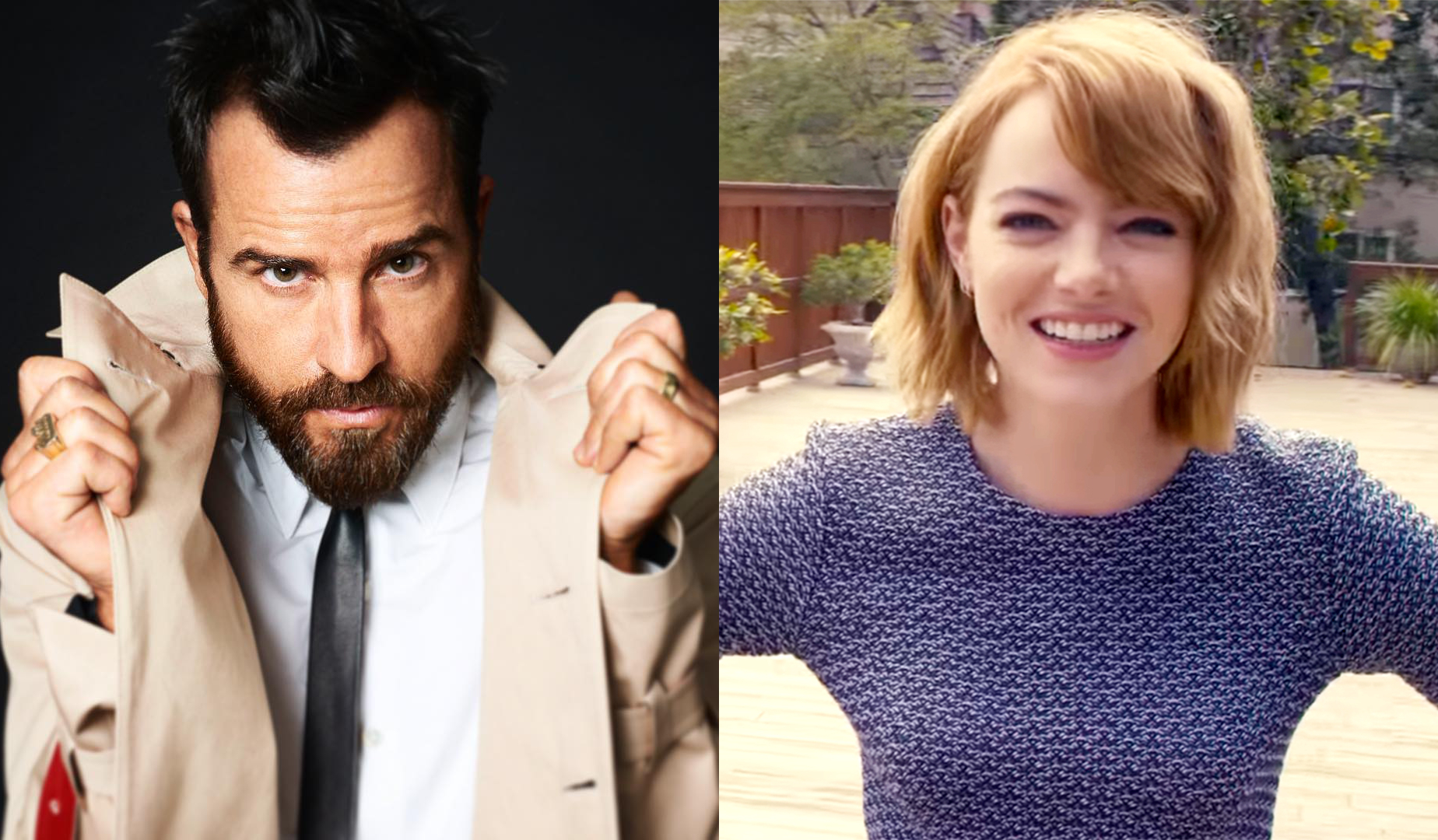 emma stone and justin theroux