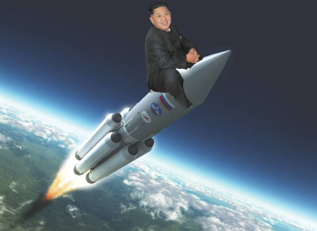Image result for rocketman kim jong un