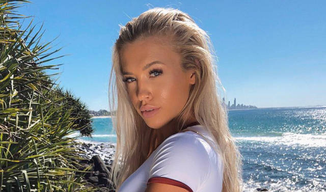 Model Tammy Hembrow Ends Up Face Down at Kylie Jenner's Birthday Party