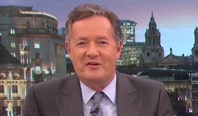 Piers Morgan Issue's World's Least-Scary Threat to Burglars Who Robbed His House