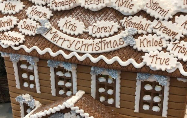 Kim Kardashian Christmas House.Kris Jenner Doesn T Even Want Scott Disick On A Gingerbread