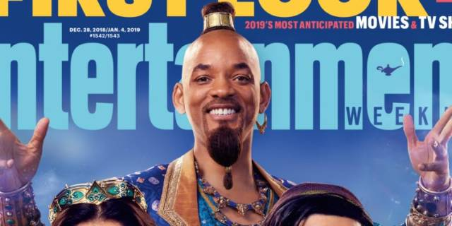 Will Smith Looks Super Weird in Our First Look at Disney's Live Action 'Aladdin'