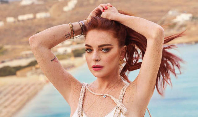 Lindsay Lohan Explains Her Weird Pseudo-European Accent