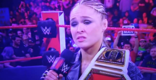 Is Ronda Rousey The Worst Pro Wrestler Ever?