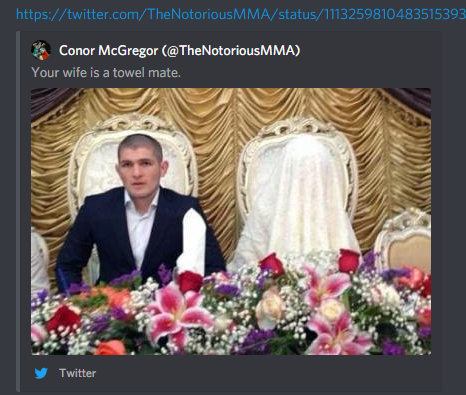 Conor Mcgregor And Khabib Nurmagomedov Are Fighting On Twitter And Daddy Dana White Is Putting A Stop To It The Blemish