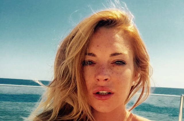 Lindsay Lohan Has a New Terrible Accent