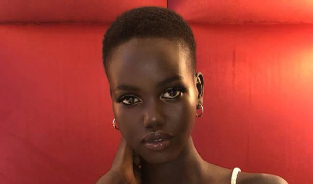 Model Adut Aketch is Not Flavia Lazarus, No Matter What Magazines Tell You
