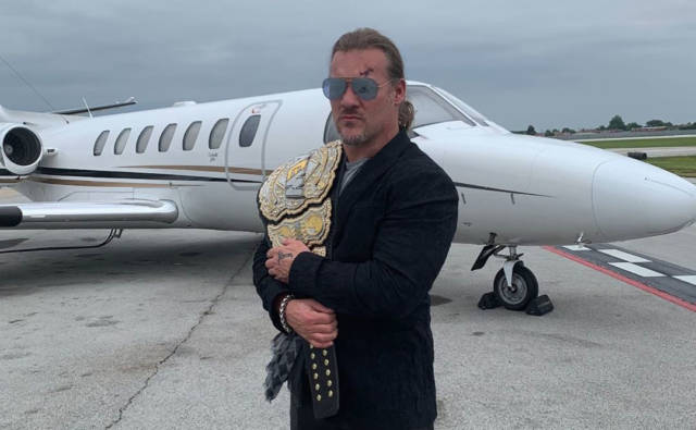 Days After Winning It, Chris Jericho Lost His AEW Championship Belt… In a Steakhouse