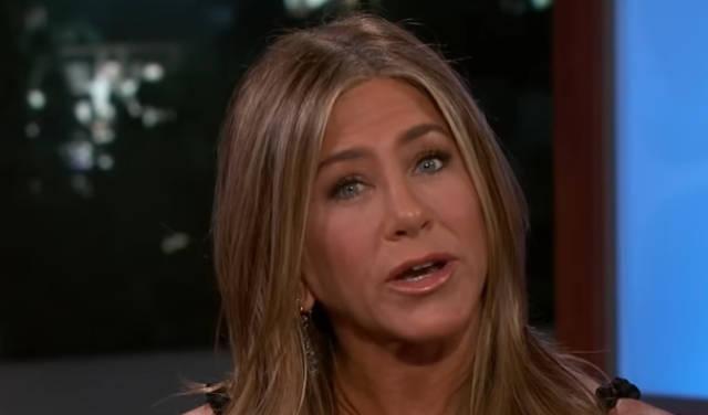 Jennifer Aniston's 2nd Ever Instagram Post Was Herself Pantsless