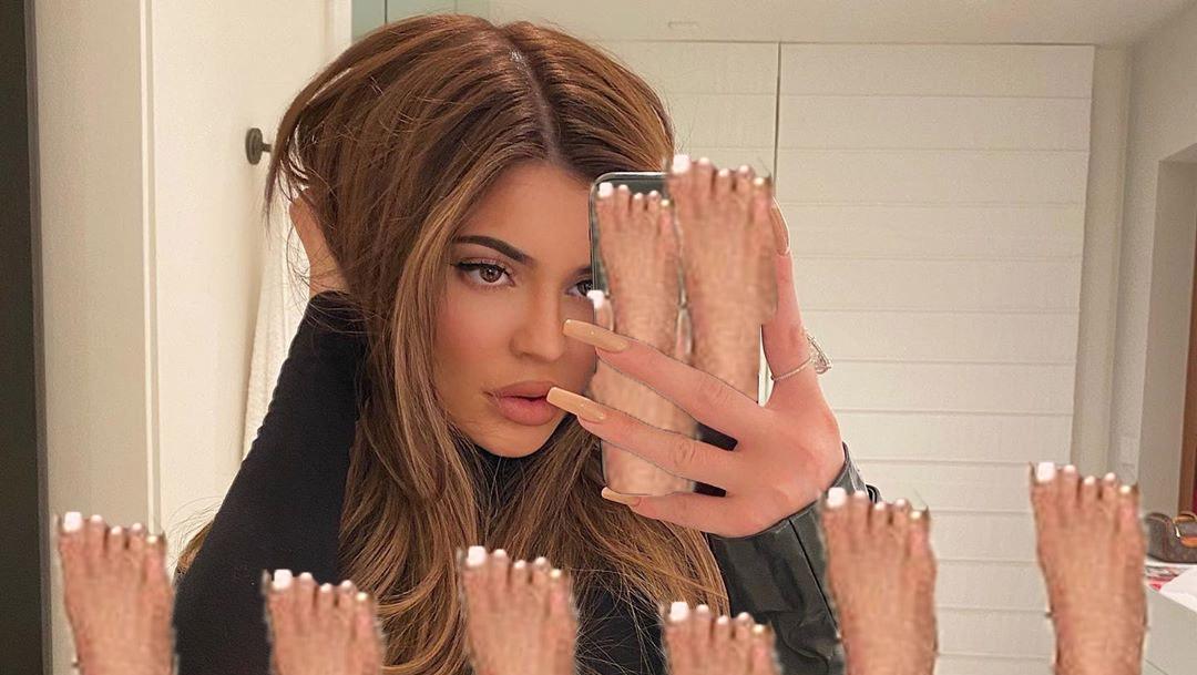 Feet kylie jenner Kylie Jenner